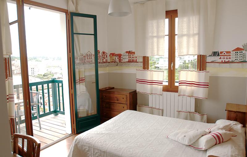 Chambre vue mer & balcon 1