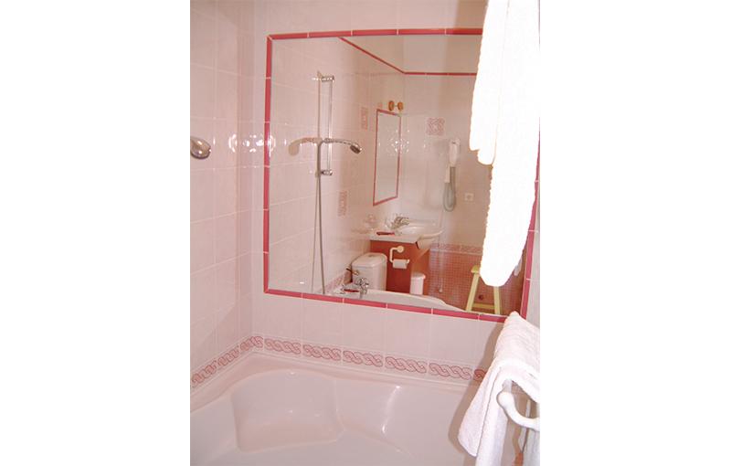 Chambres vue Port - baignoire